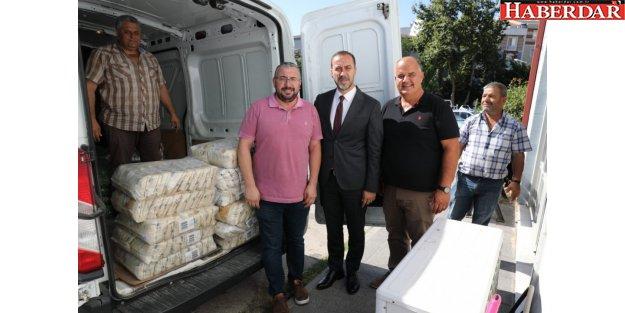 HAYIRSEVERLERDEN SİLİVRİ GIDA BANKASI'NA DESTEK