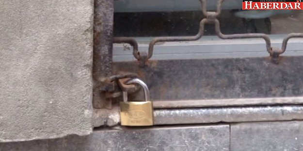 Hırsızlar, Kaçarken Kepenge Yeni Kilit Takmış
