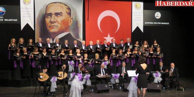 Hoş Seda Musiki Derneği'nden muhteşem bir konser
