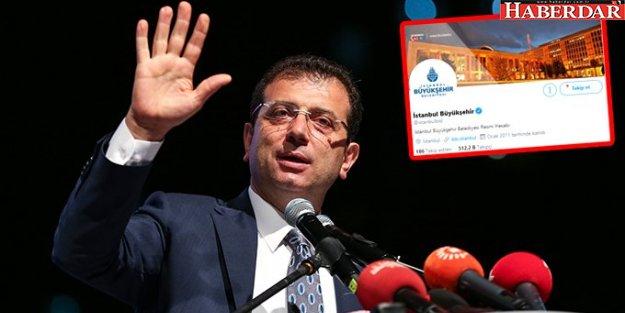 İBB'nin Sosyal Medya Hesapları, Ekrem İmamoğlu'nu Takipten Çıkardı