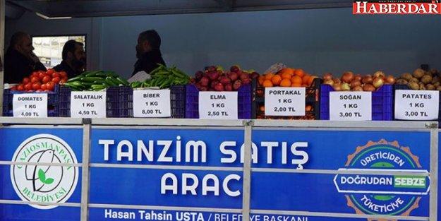 İBB'nin tanzim satışında domatesten 4.5 milyon lira zarar!