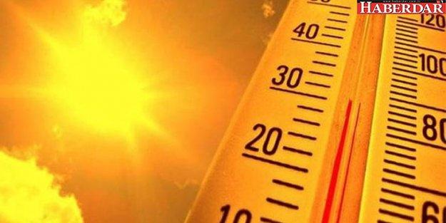 İç ve batı kesimlerde sıcaklıklar artıyor