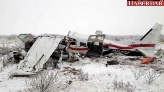 İki uçak havada çarpıştı: 5 ölü