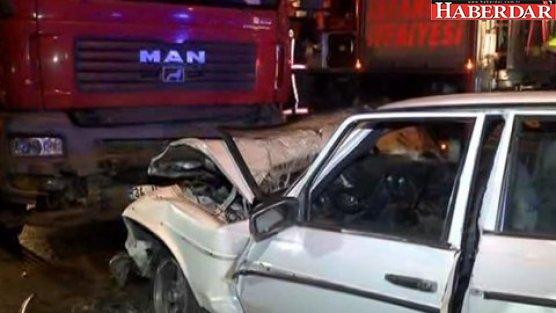 İkitelli'de  feci kaza: 3 ölü, 3 yaralı!