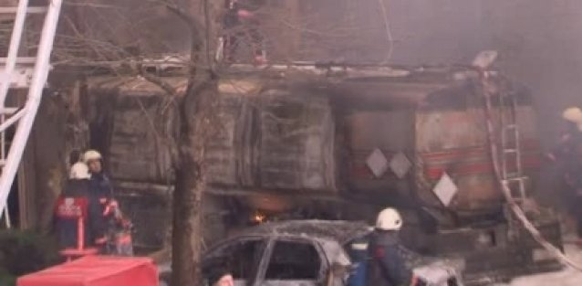 İkitelli Organize Sanayi Sitesi'nde yangın