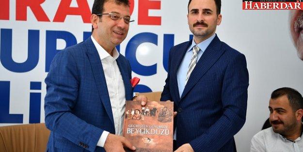 İmamoğlu'ndan AKP'ye nezaket ziyareti