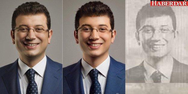İmamoğlu'nu faceapp'ta gençleştirip, adına sahte belge düzenlediler!