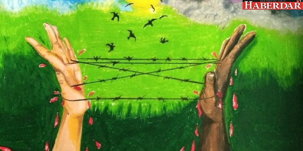 İnsan Hakları Resim Yarışması'nda İlk Üç Derece İhlas Koleji'nin