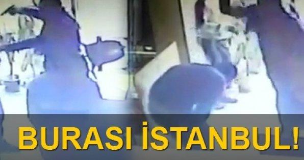 İnternet kafeyi bastı: Sahibini vurdu!