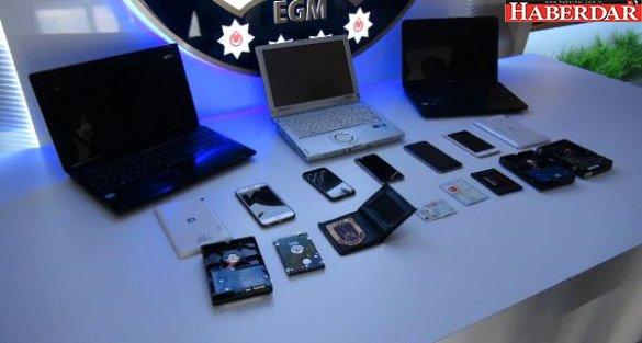 İnternet Üzerinden Dolandırıcılık Yapan Şebekeye Operasyon