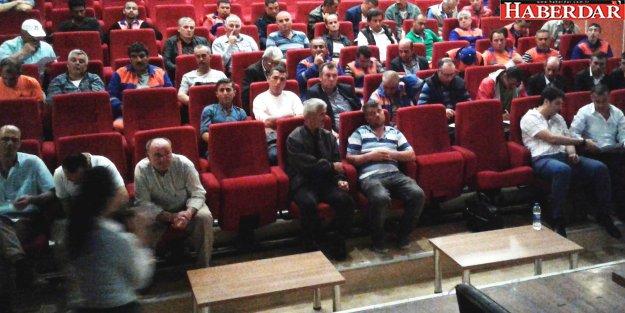 'İş Sağlığı ve Güvenliği' konulu seminer verildi