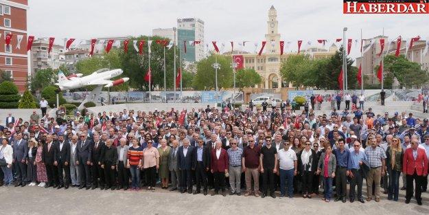 İsrail, Büyükçekmece'de protesto edildi