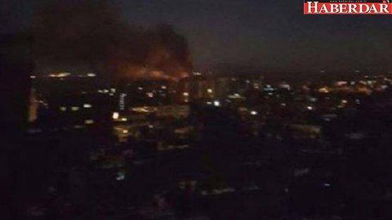 İsrail, Suriye askeri havaalanını vurdu