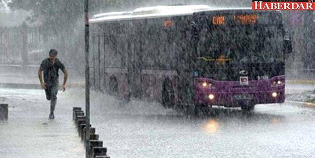 İstanbul'a Fırtına ve Kuvvetli Sağanak Geliyor