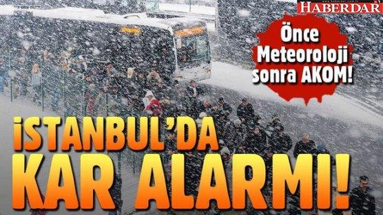 İstanbul'a kar ne zaman gelecek?