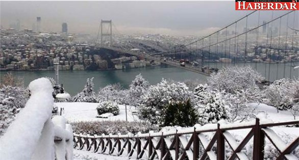 İstanbul'a kar yağışı geliyor