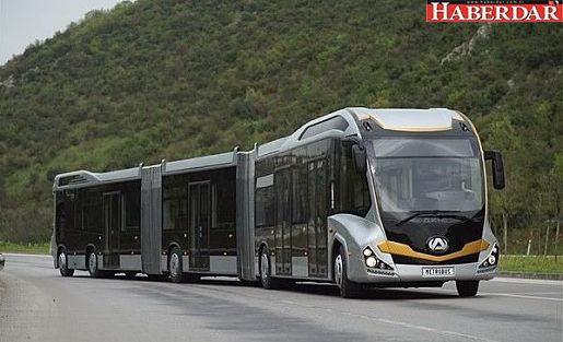 İstanbul'a Türk Yapımı 290 Kişilik Dev Metrobüs Geliyor!
