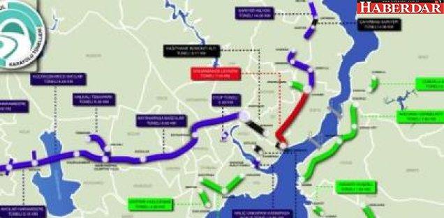 İstanbul'da 16 Yeni Tünel Yol İnşaatına Başlanıyor
