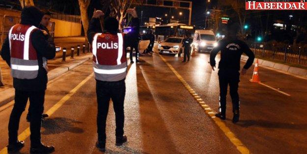 İstanbul'da bin 200 polisle denetim