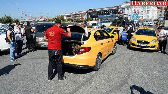 İstanbul'da bin polisle operasyon!
