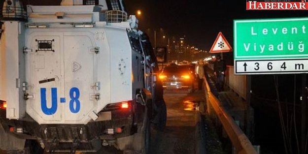 İstanbul'da bir saldırı da rektörlük aracına