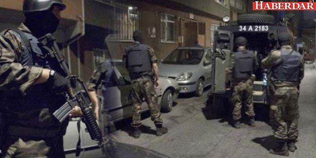 İstanbul'da çok sayıda adrese operasyon