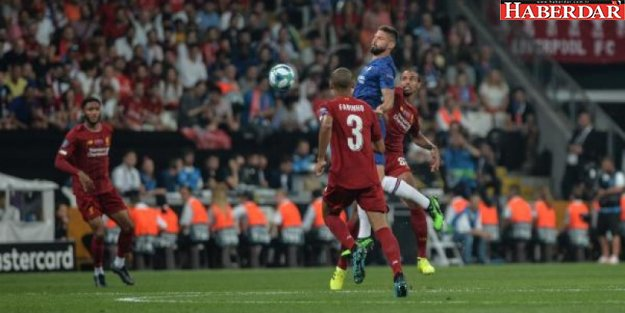 İstanbul'da dev final! Süper Kupa'nın sahibi Liverpool