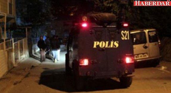 İstanbul'da PKK'nın hücre evine baskın