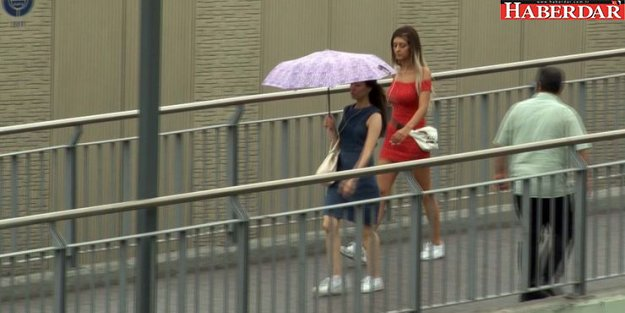 İstanbul'da sağanak yağmur ve serin hava etkili oluyor