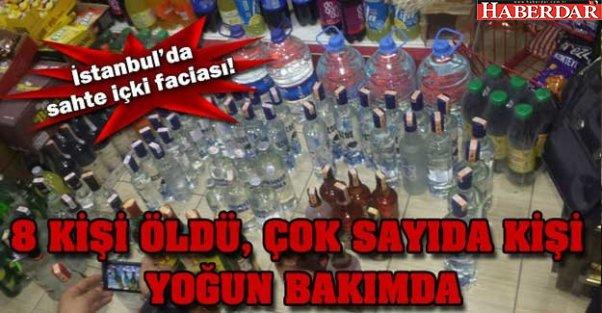 İstanbul'da sahte içkiye dikkat