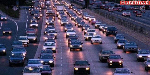 İstanbul'daki araçlar 6 ilçeden fazla yer kaplıyor