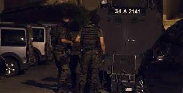 İstanbul'daki Terör Operasyonu: 28 İlçede 44 Gözaltı