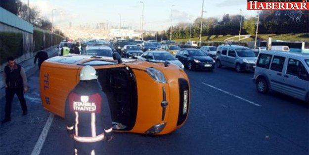 İstanbul E-5'te feci kaza!