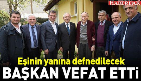 İstanbul eski Belediye Başkanı vefat etti