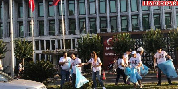 İstanbul Gönülleri Saraçhane'yi İmamoğlu için hazırlıyor