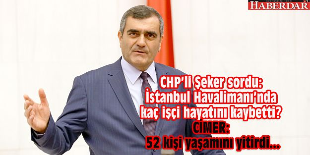 İstanbul Havalimanı'nda kaç işçi hayatını kaybetti?