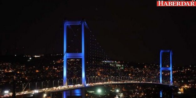İstanbul maviye büründü; işte nedeni