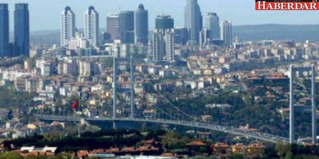 İstanbul yeşil alan miktarında sondan ikinci