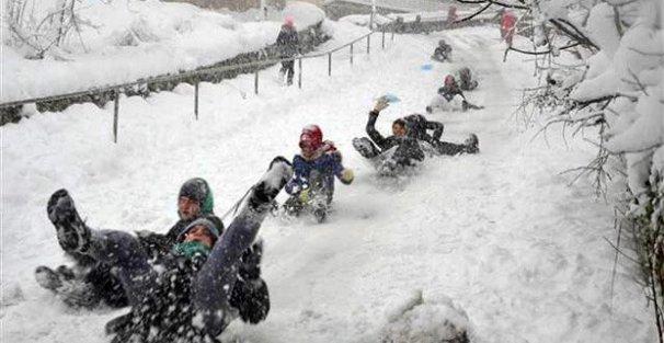 İstanbul'da 8 Ocak Perşembe günü okullar tatil