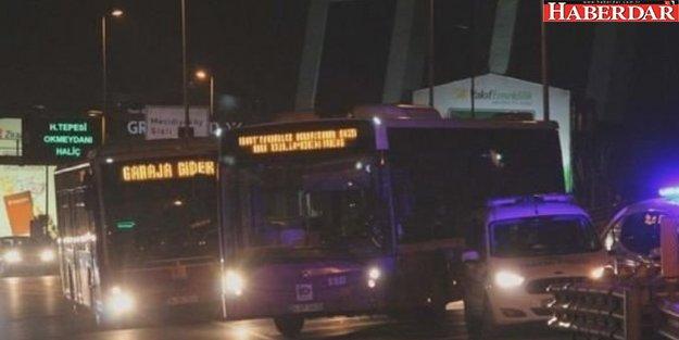 İstanbullular dikkat! 600 otobüs bugün kontak kapattı