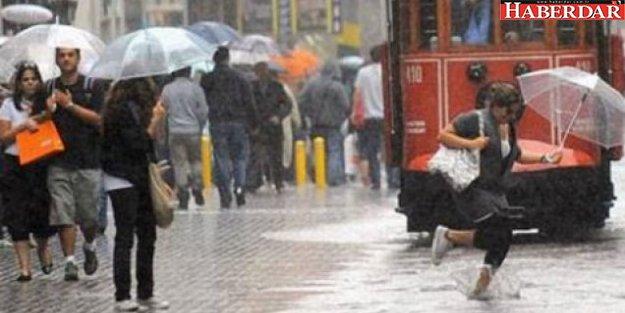 İstanbullular dikkat: Meteoroloji'den uyarı