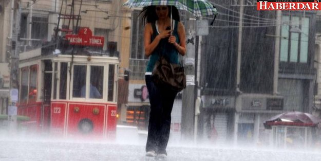 İstanbullular dikkat! Salı günü sağanak yağış var
