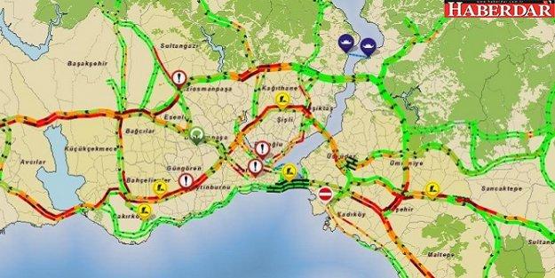 İstanbullular iş çıkış saatine dikkat!