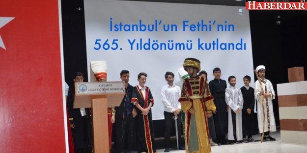 İstanbul'un Fethi'nin 565. Yıldönümü kutlandı