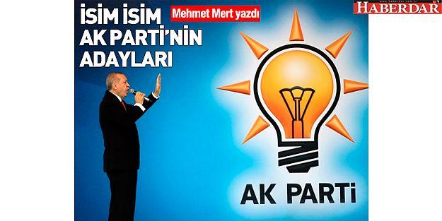 İşte AK Parti İstanbul ilçe adayları...