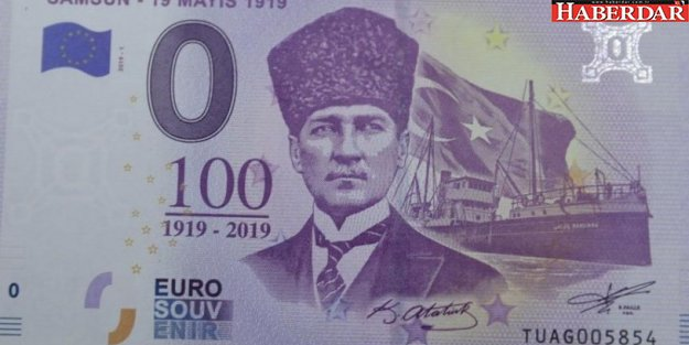 İşte Atatürk'lü 100.yıl parası!