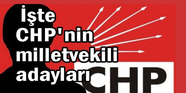 İşte CHP'nin 7 Haziran milletvekili adayları