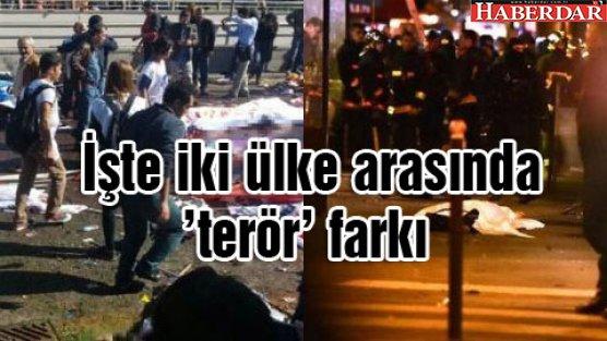 İşte iki ülke arasında 'terör' farkı