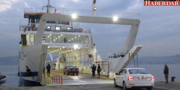 İstinye - Çubuklu arabalı vapuru başlıyor