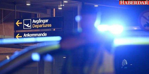 İsveç'te havalimanında bomba alarmı!